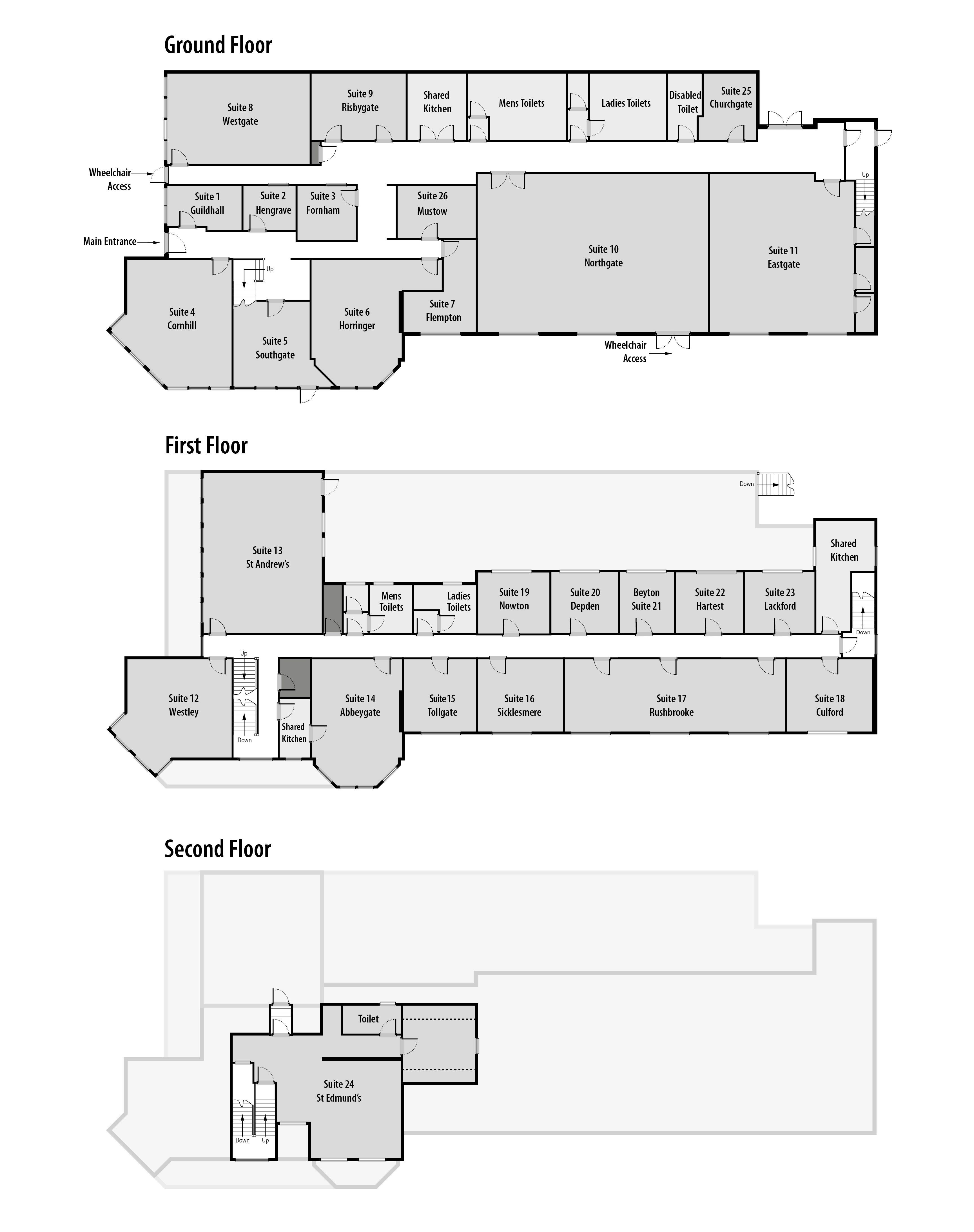 TWO Northgate Avenue Business Centre Floor plan & Layout